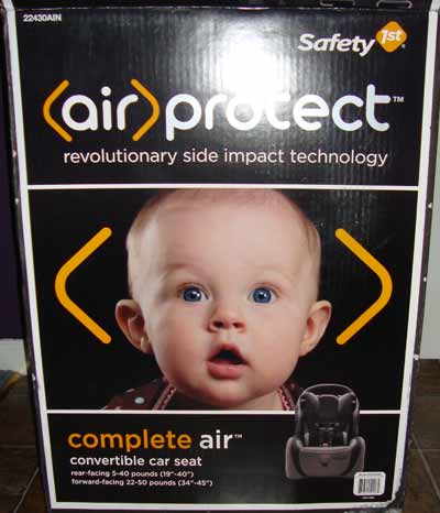 image of Safety1st Air Protect Complete Air Convertible Car Seat