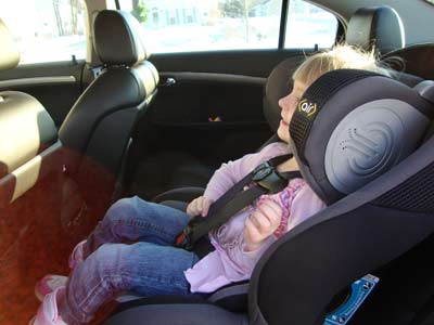 picture of Safety 1st Air Protect Convertible Car Seat side view