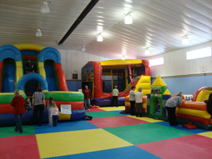 picture of Romp n Stomp Inflatables Activity Center