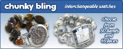 picture of Chunky Bling Interchangeable Watch