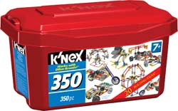 picture of KNex 350 piece Tub