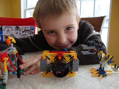 picture of Knex Creations with Kid 350pc Tub