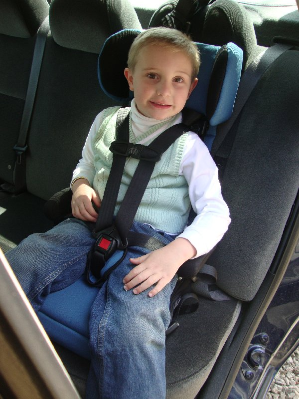 picture of Safety 1st Go Hybrid Booster Seat 5 point harness for up to 65lbs
