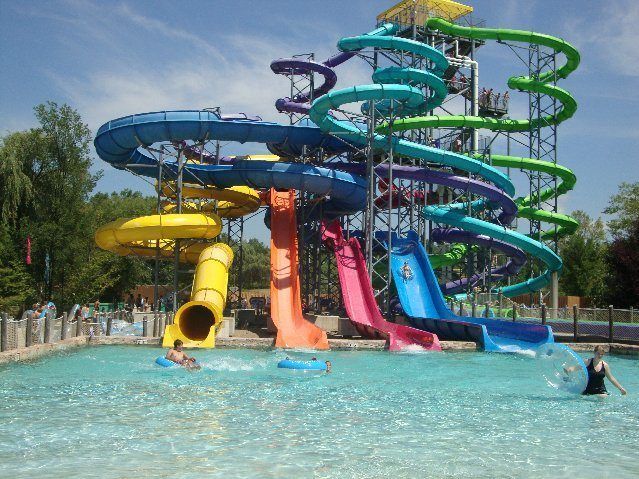 picture of Thunder Falls Water Slide Complex