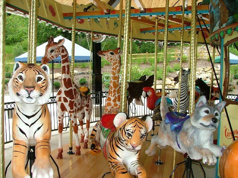 picture of Akron Zoo Carousel Animals