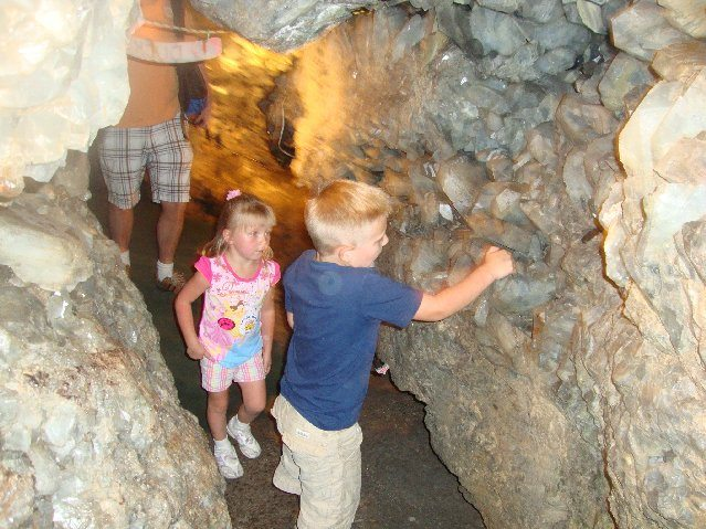 picture of Walking through Crystal Cave