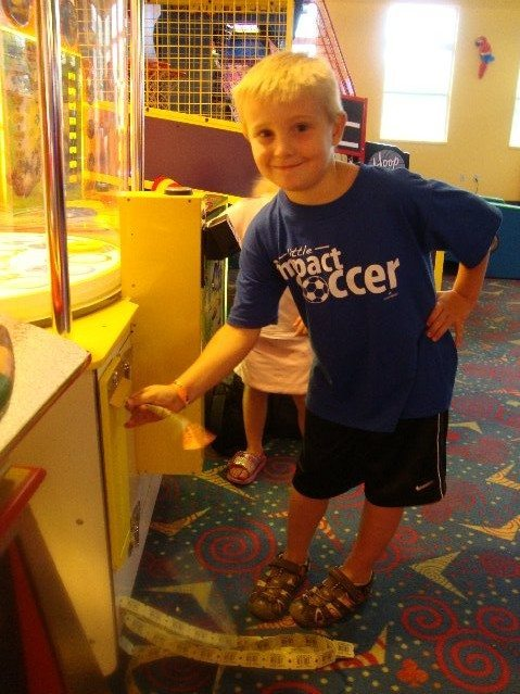 picture of Winning Tickets at the CoCo Arcade