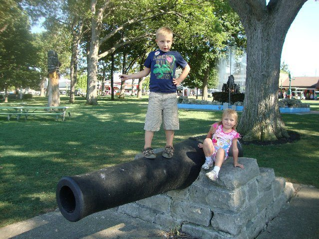 picture of Cannon at the Playground
