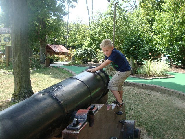 picture of Cannon at 18 Holes of Miniature Golf at South Bass Island