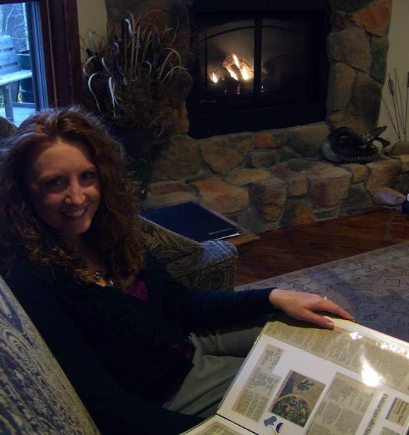 Fireside at the Inn at Cedar Falls before Dinner
