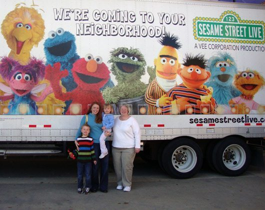 picture of Sesame Street Live