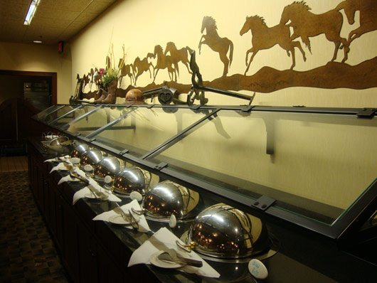 picture of Branding Iron Grille & Copper Star Saloon Buffet at Fort Rapids