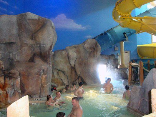 picture of Castaway Bay Grotto Indoor & Outdoor Spa Hot Tub