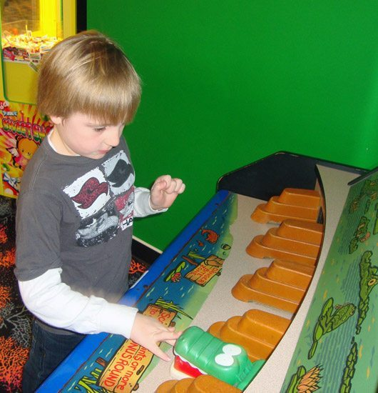 picture of Playing at Castaway Bay Arcade