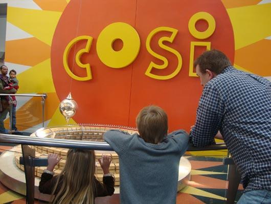 picture of COSI Foucault Pendulum