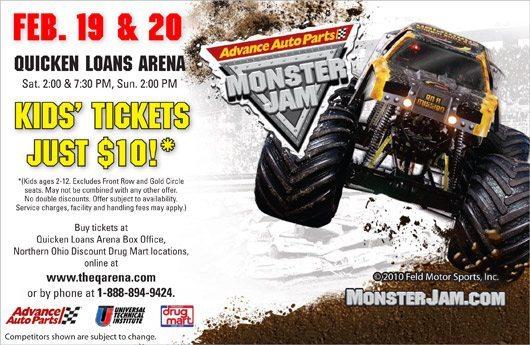 picture of Quicken Loans Arena Monster Jam