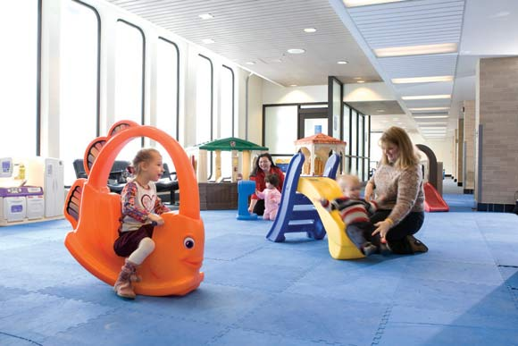 picture of Akron-Canton Airport Play Port for ages 1-5