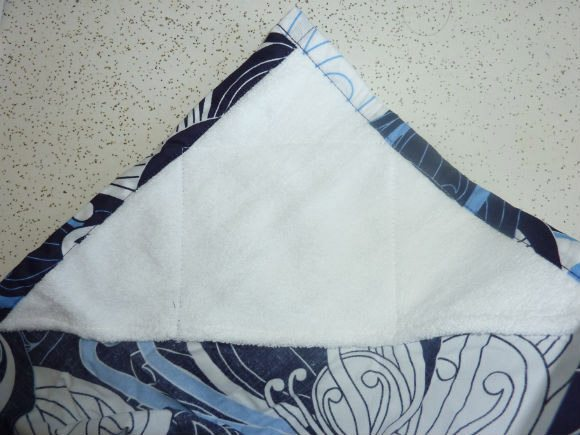 picture of Bebe Au Lait Towel to wipe baby mouth