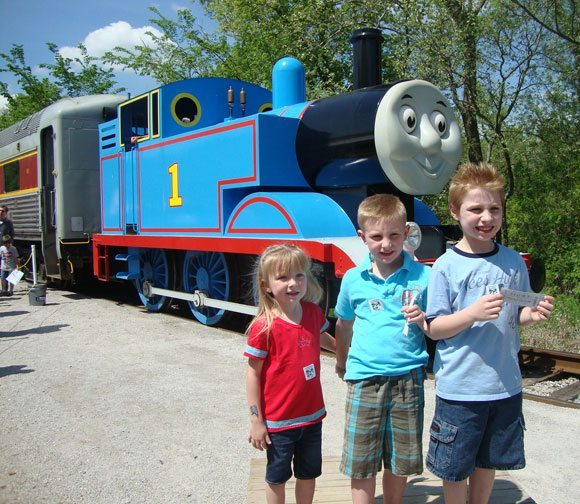 picture of Picture with Thomas the Train in Boston Mills Ohio