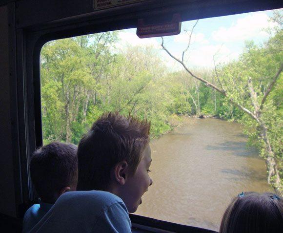 picture of Kids enjoying the scenery on CVSR