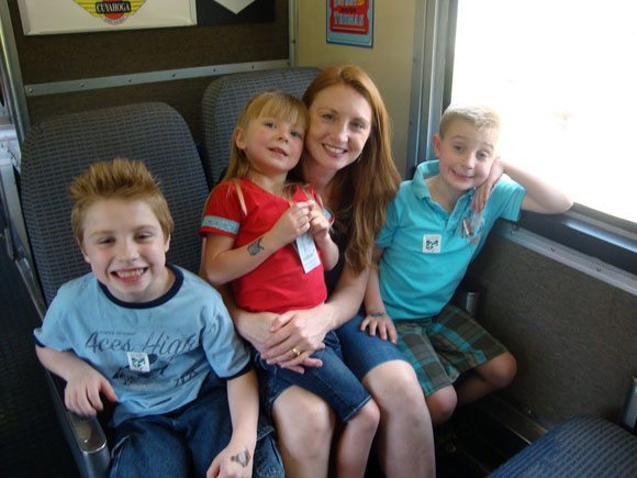 picture of Taking our Thomas the Train ride