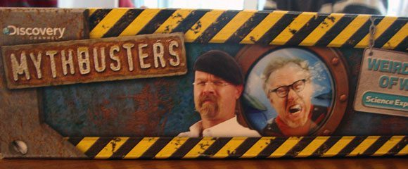 picture of Discovery Channel MythBusters Weird World of Water