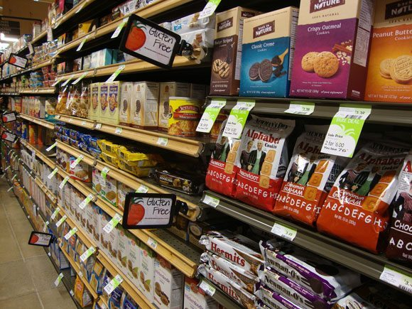 picture of Gluten Free items are easy to find at Earth Fare