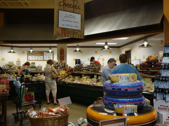 picture of Earth Fare Cheese Department