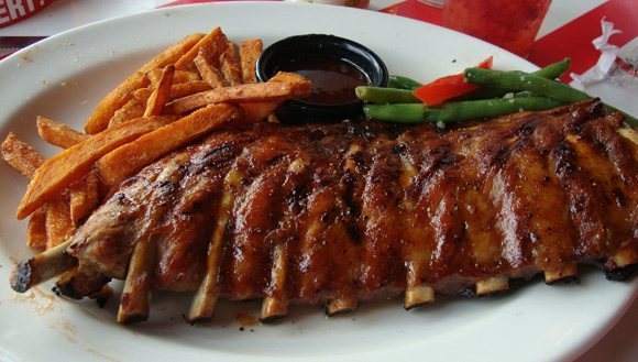 picture of TGI Fridays Ale House Baby Back Ribs