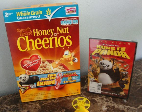 picture of General Mills Kung Fu Panda Promotion