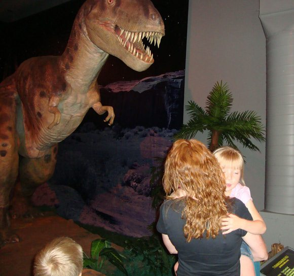 picture of COSI Dinosaurs Exhibit