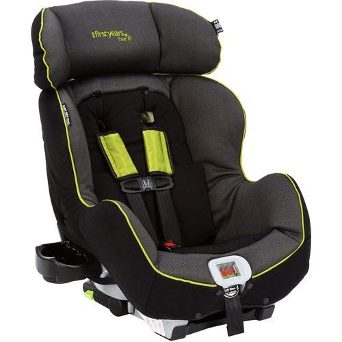 picture of The First Years True Fit Recline Convertible Car Seat Abstract Os