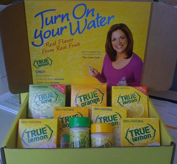 picture of True Citrus Giveaway Gift Box