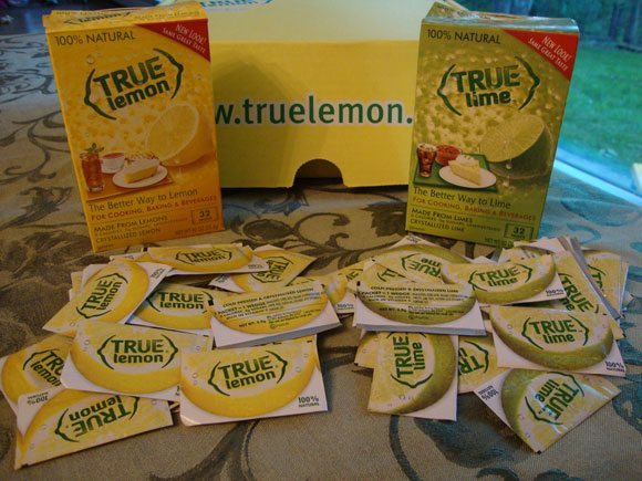picture of True Lemon and True Lime for cooking, baking, and drinks