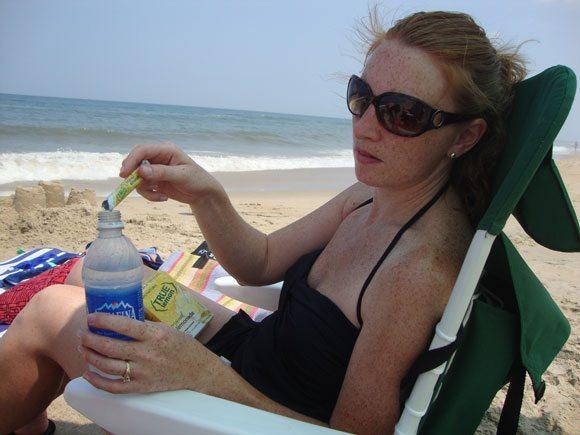 picture of True Lemon on beach