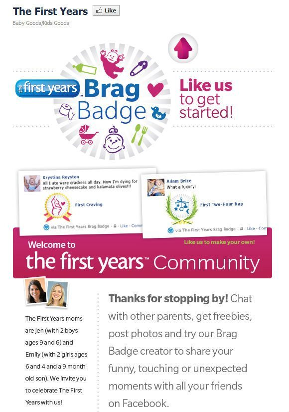picture of Brag Badge The First Year