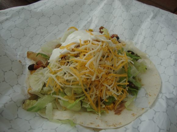 picture of Big Man's Burrito Stand in Put-in-Bay Soft Taco
