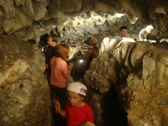 picture of Exploring World's Largest Geode Crystal Cave