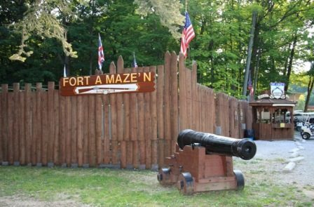 picture of Fort Amaze'n at Put-in-Bay Ohio
