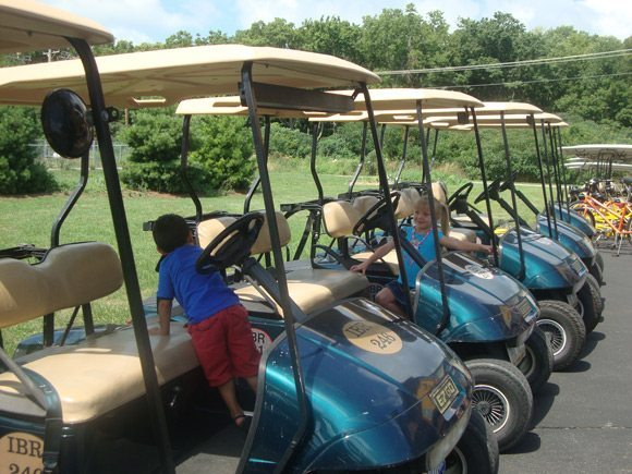 picture of Island Transportation Lime Kiln Golf Carts at Put-in-Bay