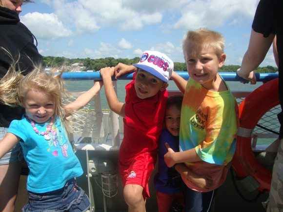 picture of Miller Boat Line Ferries are fun for kids