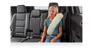 picture of Ford Explorer Industry First Inflatable Rear Safety Belt