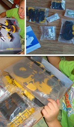 Robotic Arm Kit in Box, Sortof
