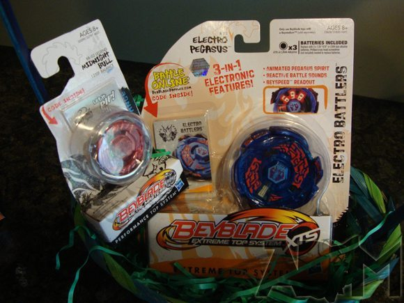 picture of Beyblade Metal Masters for Boys Easter Basket