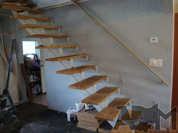 picture of Frank Lloyd Wright Floating Stairs