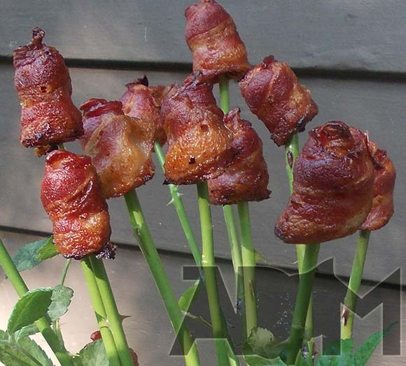 Bacon Bouquet with Stems