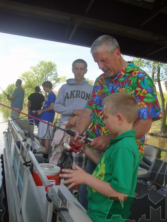 picture of Learning how to fish by Gone Fishin' tour guide Steve