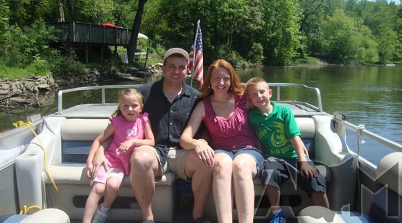 picture of Relaxing on boat ride on the Cuyahoga River
