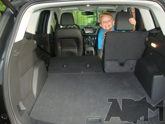 Adjustable Cargo Space in 2013 Ford Escape