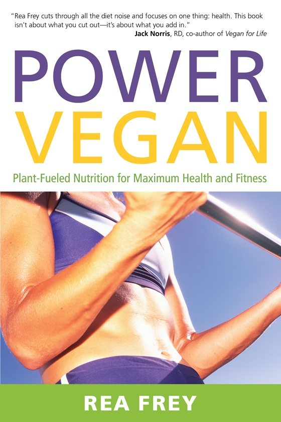 In the new book Power Vegan: Plant Fueled Nutrition for Maximum Health and Fitness, certified personal trainer, nutrition specialist, vegan, and new mother Rea Frey discusses the benefits having a plant based diet and how even small changes in our diet can have a big impact on our overall health.